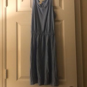 Sky blue comfy dress